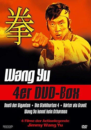 Actionlegende WANG YU - 4er EASTERN EDITION Duell der Giganten + Die stahlharten 4 + Härter als Granit + Wang Yu kennt kein Erb