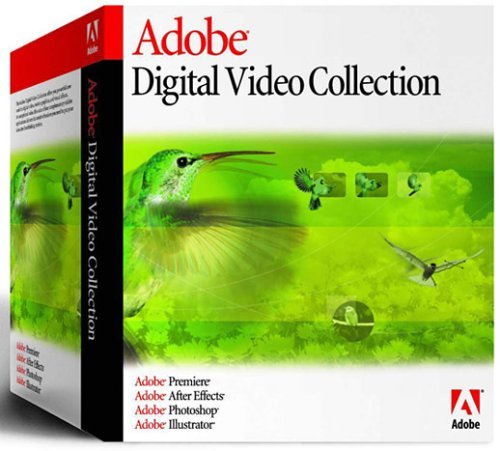 Digital Video Collection 8.0 (Photoshop, Premiere, After Effects, Illustrator)