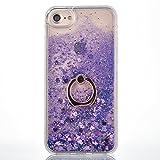 Paillette Coque pour iPhone 5S,Liquide Coque Bling Flash Etui Plastic Case,Hard Etui...