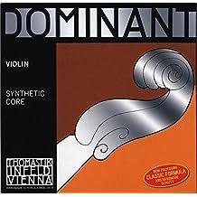 Dominant Strings 130MSS - Cuerda para violín de aluminio en Mi, 4/4 (extremo de lazo)