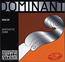 Thomastik Single string for Violin 4/4 Dominant - A-string Synthetic Core, Aluminium Wound, Soft