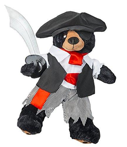 Pirate Boy Kostüm mit Schwert Teddybär Outfit (20,3cm)