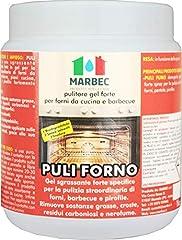 Idea Regalo - Marbec - PULI FORNO 1KG | Pulitore sgrassante forte in gel per forni da cucina e barbecue