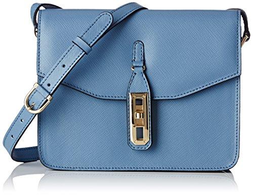 La Bagagerie Vic Bob, Borsa a tracolla donna Taille unique, Blu (Bleu (bleu/acier)), Taille unique