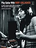 Play Guitar With Rory Gallagher (Book & 2CD) (Book & CD)