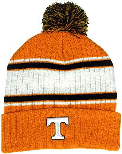 Collegiate mit Kopfbedeckungen Tennessee Freiwilligen Herren Traditionelle Knit Pom Beanie - Infant Knit Beanie Orange