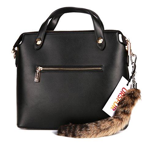 ursfur-bobcat-tail-pelo-bolsa-colgante-charm
