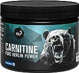 nu3 L-Carnitina - 250 cápsulas - Aminoácido quemador de grasa - Suplemento vegetal para ganar definición muscular - Ideal para definir el cuerpo - Perfecto para atletas de resistencia y fuerza