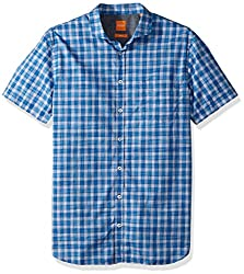 BOSS Orange Mens Cattitude-Short 10197961 01, Blue, XXXL
