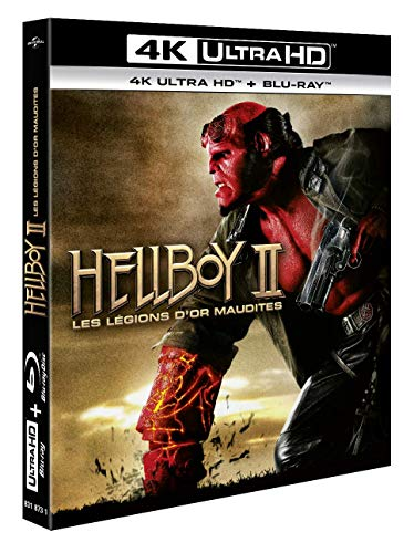 Hellboy II, Les légions d'or maudites [4K Ultra HD + Blu-ray]