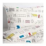 Best IkEA Beddings - IKEA Hemmahos Twin Duvet Set Review