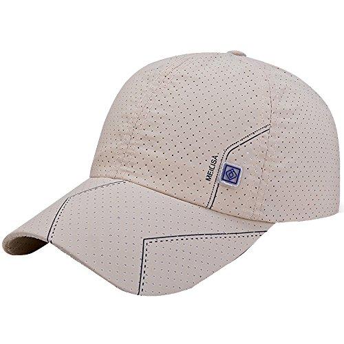 Saingace(TM)Hüte Unisex Baseball Cap Flexfit Hat,Atmungsaktive und schnell trocknende Baseballmütze, für Sport wie Golf, Tennis, Joggen
