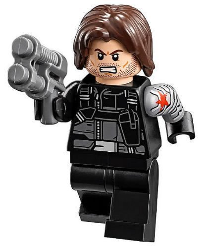 LEGO Marvel Winter Soldier (Civil War Version) Minifigure by LEGO