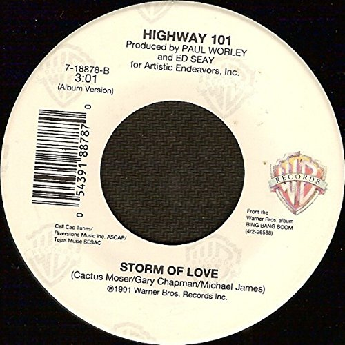 Honky Tonk Baby [Vinyl Single 7''] (Highway 101 Vinyl)