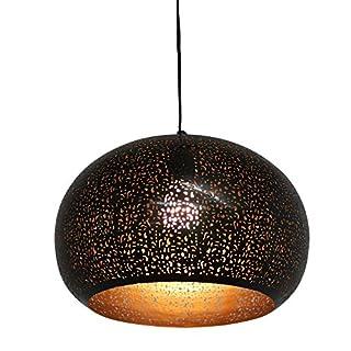 albena shop 75-100 Muja Oriental Ceiling lamp Metal ø 34cm Black/Gold