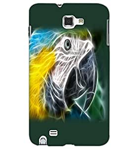 SAMSUNG GALAXY NOTE 2 BIRD EYE Back Cover by PRINTSWAG