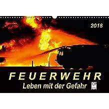 Feuerwehr - Leben mit der Gefahr (Wandkalender 2018 DIN A3 quer): Täglicher Einsatz voller Gefahren zum Wohle der Allgemeinheit (Monatskalender, 14 ... [Kalender] [Apr 01, 2017] Roder, Peter