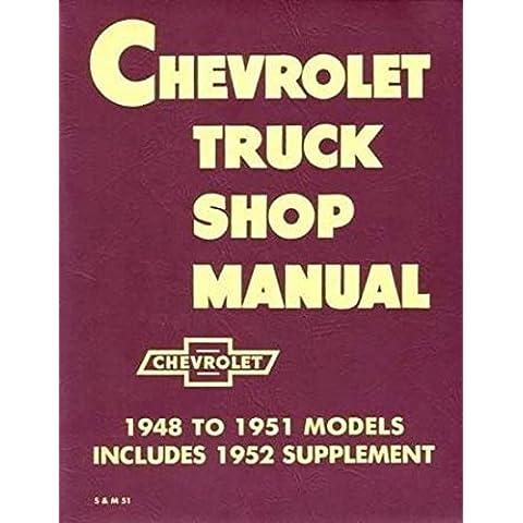 1948-1953 Chevy Pickup and Truck Shop Repair Manual Reprint