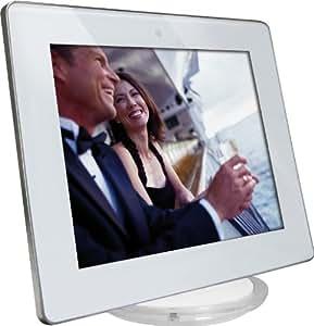 Rollei Pictureline 8200 Digitaler Bilderrahmen (20,3 cm (8 Zoll) TFT-LCD-Display, 800x600 Pixel, SD/SDHC/MMC/MS-Kartenslot, USB 2.0) weiß