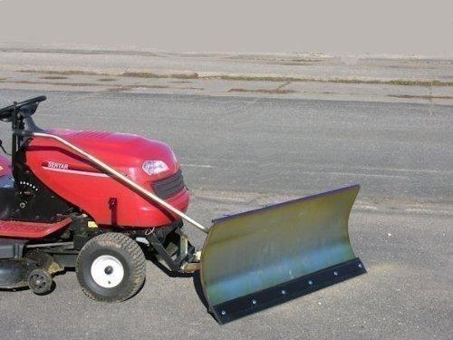 MTD 500 verzinktes Schneeschild 118x50 cm für Rasentraktore ID 2191
