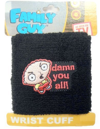 Family Guy Stewie Griffin Damn You All! Sweat Wrist (Griffin Stewie Kostüme)