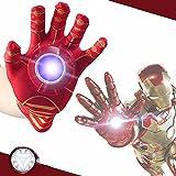 RIANZ Iron Man Single Hand Glove, Red