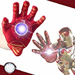 RIANZ presents all new Iron Man Single Hand Glove with Light and Sound for your kids.