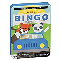 Petit-Collage-PTC327-On-The-Go-Bingo-Magnet-Reisespiel-Mehrfarbig