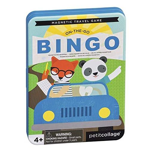 Petit-Collage-PTC327-On-The-Go-Bingo-Magnet-Reisespiel-Mehrfarbig