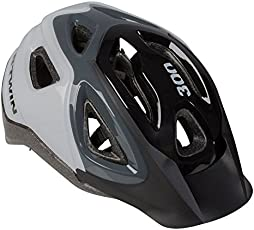 B'twin 300 Cycling Helmet - Grey