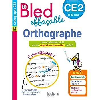 Le BLED effaçable Orthographe CE2
