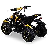 Miniquad Kinder Cobra ATV gelb / schwarz - 3