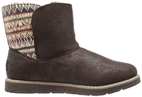 Skechers Bobs Alpine Snowday, Desert Boots Femme Marron (Choc Chocolat)
