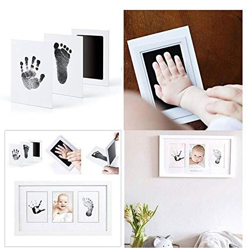 Hook.s 2 STÜCKE Baby Footprints Handprint Stempelkissen Ungiftige Stempelkissen Kits für die Babyparty