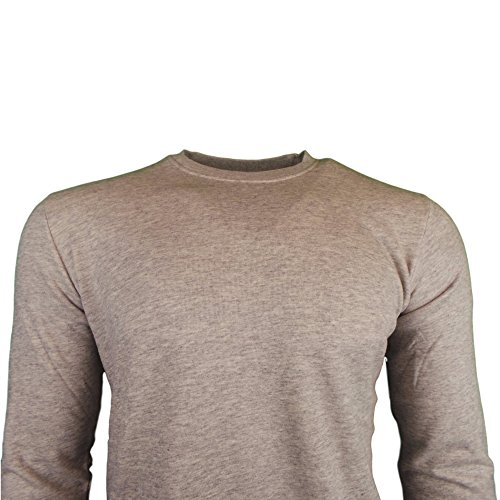 Edwin Terry Towelling Crew Neck Sweatshirt Gris