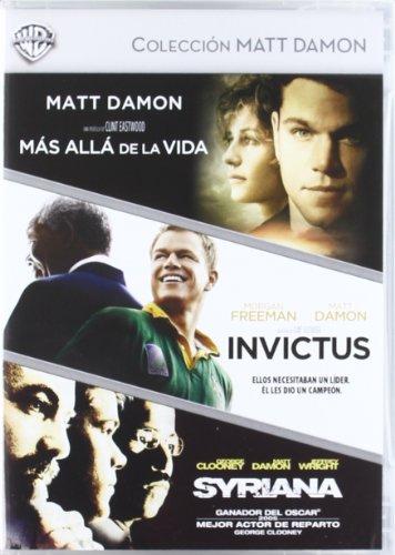 COLECCION MATT DAMON: MAS ALLA DE LA VIDA + INVICTUS + SYRIANA (D (Spanien Import, siehe Details für Sprachen)