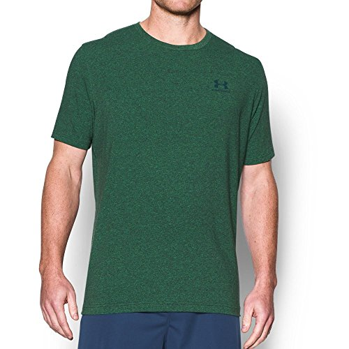 Under Armour 1257616-001 T-Shirt Homme Noir FR : XS (Taille Fabricant : XS)