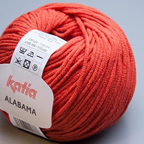 Katia Alabama 044 naranja quemada 50g Wolle