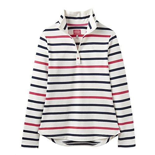 Joules Womens/Ladies Fairdale Half Zip Long Sleeve Light Sweatshirt
