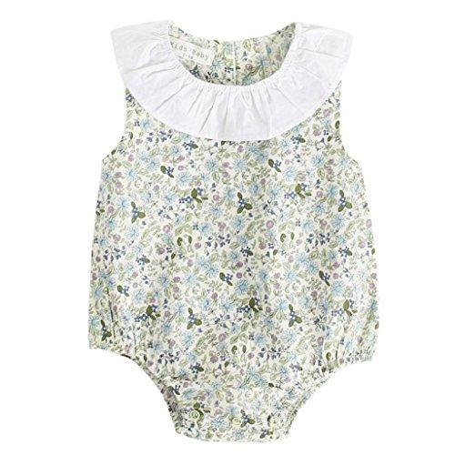 c23754bffd43 DAY8 Vêtements Bébé Fille Naissance Été Body Bébé Fille 0-3 Ans Barboteuse  Pyjama Bébé