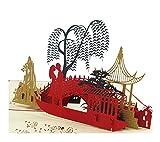 Einladungskarten Grusskarten Grußkarte 3D Geburtstag Card Chinesisch Grusskarte