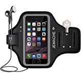 Best Accessory Power Running Armband For Samsung Galaxy S6 S6 Edges - iPhone 7/8 Armband, JEMACHE Gym Sports Running/Exercises / Review