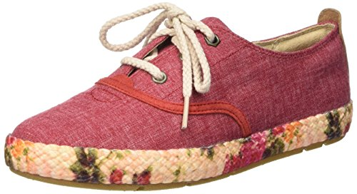 Timberland Casco Bay_casco Bay Fabric Oxford, Sneakers basses femme Rojo - Rosso