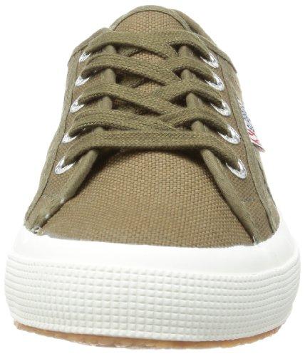 Superga 2750 Cotu Classic, Sneakers Unisex - Adulto Verde (595 Military Green)