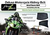 Cintura renale da motociclista (L/Unisex) riscalda indietro senza sudore. Potenza - Forza - Endurance. Supporta la schiena e aiuta a prevenire il mal di schiena.