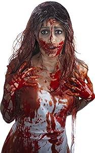 Smiffys Sangre artificial en frasco, Rojo, 3.78 Litres /1 Galón EE.UU.