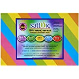 Satavic Farms 100% Natural Holi Color powder (Gulal) - 1 Kg - 5 colours assorted pack - Herbal, Skin-safe & non-toxic