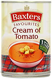 Baxters Favourite Cream of Tomato Soup 400 g (Pack of 12)