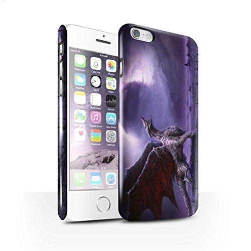 Offiziell Chris Cold Hülle / Glanz Snap-On Case für Apple iPhone 6 / Pack 10pcs Muster / Dunkle Kunst Dämon Kollektion Drachen/Finsternis