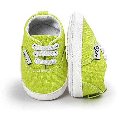 RVROVIC , Baby Jungen Lauflernschuhe fluoreszierendes grün